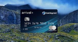 barclaycard arrival plus card