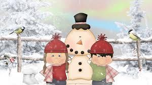 country snowman wallpaper.  Snowman Snow Kids Make A Snowman HD Desktop Wallpaper  Widescreen High  For Country L