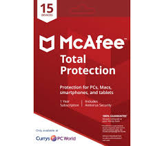 mcafee total protection 2018 1 year for 15 devices