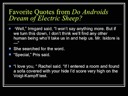 Quotes Do Androids Dream Of Electric Sheep Best Of Do Androids Dream Of Electric Sheep Quiz Show
