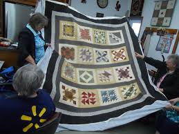 Osnaburg Quilt Guild | Just another WordPress site & She is quilting the design on it and then painting the color on it. It will  be a jacket. Can't wait to see that! Adamdwight.com
