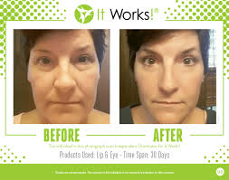 it works exfoliating peel before and after see real before after pics using it works body wraps