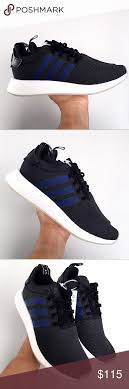 Nmd R2 Size Chart Adidas Nmd R2 Black Indigo Mens 10 Women 11 Brand New In