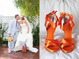 coral wedding shoes. Orangecoral wedding shoes Need honest Opinions please