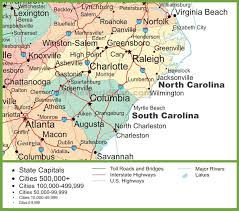 map of north and south carolina A Map Of North Carolina A Map Of North Carolina #34 a map of north carolina cities