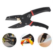 3 in 1 cutting tool multi cut pliers wire black power cut garden pruning shears with 3pcs extra blades wire stripper scissors for cutting cable leather