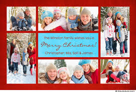 christmas card collage templates photo collage christmas cards christmas red blue collage card photos