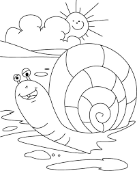 Small Picture Sun rising snail falling coloring pages Download Free Sun