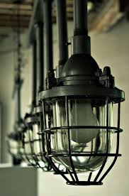 Old Warehouse Light Fixtures Lamps In An Old Warehouse Next To The River Future Noir