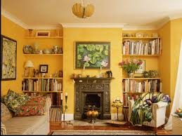 Yellow Paint Colors For Living Room Gypsum Board Work In Living Room Include Fan Home Combo