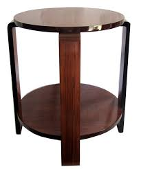 french art deco occasional table with black lacquer accents art deco furniture information