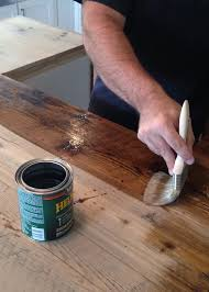 Diy Kitchen Counters Diy Reclaimed Wood Countertop Averie Lane Diy Reclaimed Wood