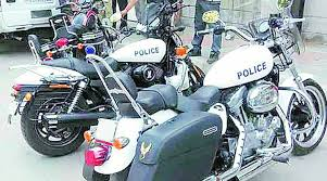 custom made harley superbikes to escort pm pulled out cops can t