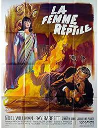 Mauvais Genres THE REPTILE French Movie Poster 47x63-1966 - John Gilling, Jacqueline  Pierce: Amazon.co.uk: Kitchen & Home