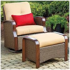 outdoor glider chair with ottoman. resin wicker glider chairs with ottomans$569 set wilson \u0026 fisher® tuscany outdoor chair ottoman