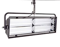 the parazip 415 and 215 luminaires complement the expanding line of kino flo soft light fixtures for television broadcast studios