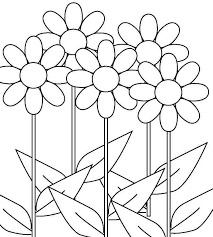 Small Picture flower coloring page