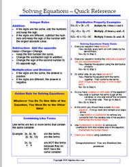 algebra reference sheet my algebra classroom  algebra reference sheet