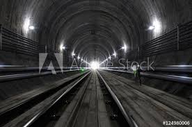empty subway tunnel. Fine Tunnel Empty Subway Tunnel 3D Illustration Intended Tunnel
