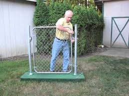 chain link fence gate hinges. Gate Closer - Simple, Effective For Chain Link Gates. (It Works!) Fence Hinges