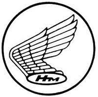 honda motorcycles logo vector. honda hm motorcycles logo vector e