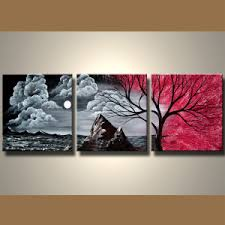 modern canvas art. Fabulous Modern Wall Art Canvas For Sale Sample Great Sold By Red Mountain Branches Silver Black R
