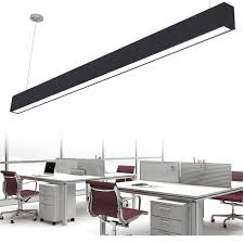 office pendant light. Strip Pendant Light And Modern Aluminum LED Chip Lamp Engineering Hanging Wire With Fixture For Office Conference Room 800x800px I