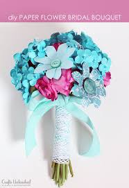 Paper Flower Bouquet For Wedding How To Make A Paper Flower Bridal Bouquet