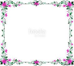frame design flower. flowers frame color abstract design, cute purple \u0026 green leaves formed rectangle shape border design flower ,