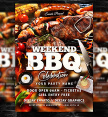 Barbecue Flyers 20 Free Psd Barbeque Flyer Templates For The Best Events