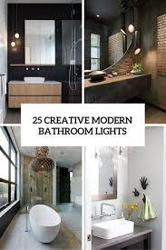 unique vanity lighting. New Ideas 25 Creative Modern Bathroom Lights You Ll Love DigsDigs Unusual Lighting Unique Vanity S