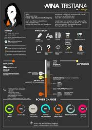 DESIGN | RESUME by Wina Tristiana, via Behance #architecture #student  infographic. If