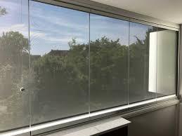 Balkonverglasung Mit Beschattung Fixscreen Für Außen