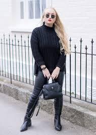 leather trousers women style ideas outfits fashion