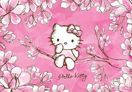 Hello Kitty wallpaper murals for walls