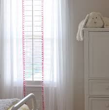 beautiful pom pom curtains decorating with this is happiness diy no sew pom pom curtains
