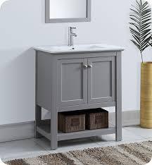 fresca fcb2305gr i manchester 30 gray traditional bathroom vanity