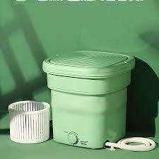 FreeShip - Bảo hành] Máy giặt mini Yangzi gấp gọn thông minh chính hãng,  vắt khô và khử trùng UV bằng công nghệ Blue Ag