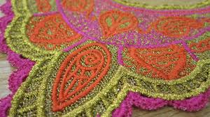 Gunold Machine Embroidery Designs Ethnic Inspired Free Standing Lace Design Created With