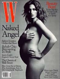 A History Of Naked Pregnant Celebrities On Magazine Covers