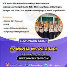 10 orang dibutuhkan disnakertrans jawa tengah lowongan kerja januari 2021 loker jateng 2021. Loker Cirebon Lokercirebon Profil Pinterest