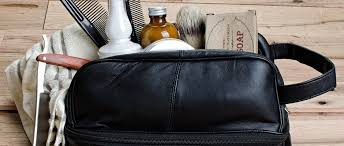 three great ideas for the perfect men s toiletry bag travel shaving kits classic leather
