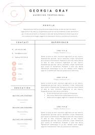 Fashion Resume Templates Stylish Template Pk Modern Cv Free Cover