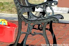 to clean and refinish metal patio furniture