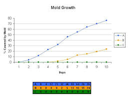 Lemon Battery Data Chart Mold Bread Experiment What Makes Mold Grow
