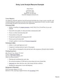 Cyber Security Resume Objective Entry Level Cyber Security Resume Resumes Samples Example Template 2