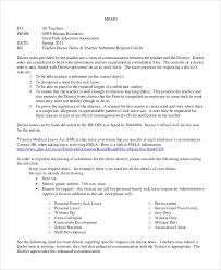 Sample Doctors Note 11 Documents In Word Pdf