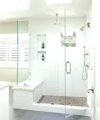 shower seat ideas best on showers bathroom walk in with bench handicap bathtub bathroom shower no doors seat