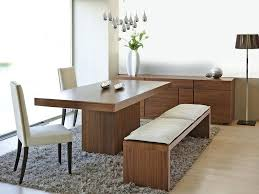 modern dining table with bench as the in for plans 6 seat covers cushions home design