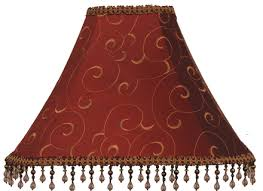 chandelier lamp red